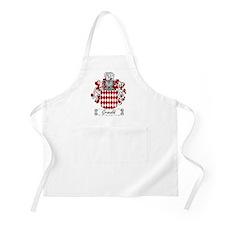 Grimaldi Family Crest BBQ Apron