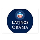 LATINOS FOR OBAMA Postcards (Package of 8)