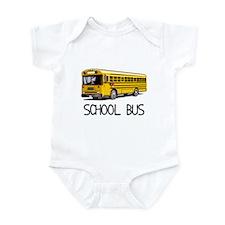 School Bus Infant Bodysuit