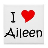 Cool Aileen Tile Coaster
