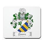 Guerra Family Crest Mousepad