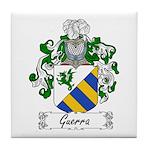 Guerra Family Crest Tile Coaster