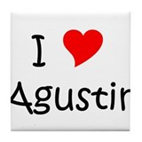 Funny Agustin Tile Coaster