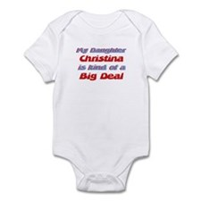 My Daughter Christina - Big D Infant Bodysuit
