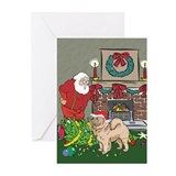 Santa's Helper Chow Chow Greeting Cards (Pk of 10)