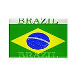 Brazil Brazilian Flag Rectangle Magnet (10 pack)