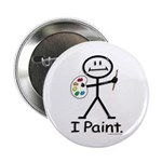 BusyBodies Artist (Painter) Button