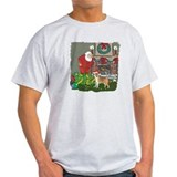 Santa's Helper Beagle T-Shirt