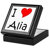 Cool Alia Keepsake Box