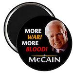 More War! More Blood! McCain Magnet