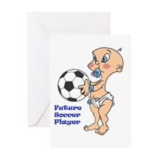 Future Soccer Player Greeting Card