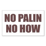 Anti Palin Sticker