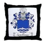 Impellizzeri Family Crest Throw Pillow