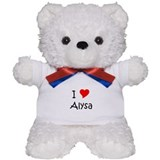 Unique Alysa Teddy Bear