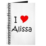 Cool Alissa Journal
