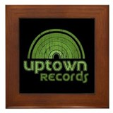 Uptown Records Framed Tile
