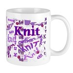 Knit Purple Mug