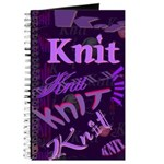 Knit Purple Journal