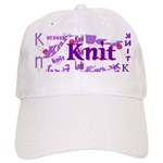 Knit Purple Cap