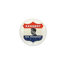 John F. Kennedy Shield 53 Mini Button (10 pack)