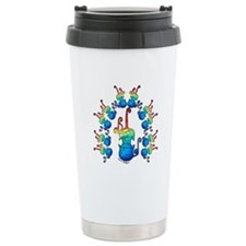 Fiddle Fun Ceramic Travel Mug