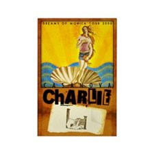 casanova charlie Rectangle Magnet (10 pack)