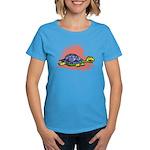 Heart Turtle Women's Dark T-Shirt