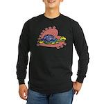 Heart Turtle Long Sleeve Dark T-Shirt