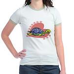 Heart Turtle Jr. Ringer T-Shirt
