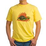 Heart Turtle Yellow T-Shirt
