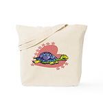 Heart Turtle Tote Bag