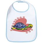 Heart Turtle Bib