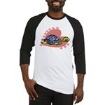 Heart Turtle Baseball Jersey