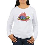 Heart Turtle Women's Long Sleeve T-Shirt