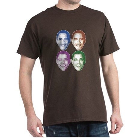 Smiling Faces OBAMA Dark T-Shirt