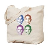 Smiling Faces OBAMA Tote Bag
