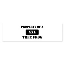 Property of a Tree Frog Bumper Sticker (10 pk)