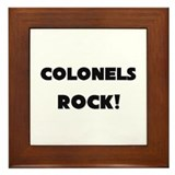 Colonels ROCK Framed Tile