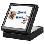 YOU ROCK! YOU RULE! Keepsake Box