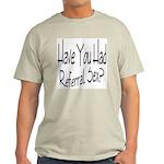 Referral Sex Ash Grey T-Shirt