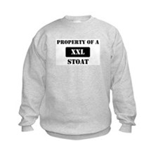 Property of a Stoat Sweatshirt
