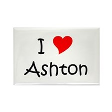 Cute Ashton Rectangle Magnet