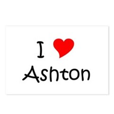 Cute Ashton Postcards (Package of 8)