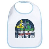 Hate to Lose Go Kart Bib