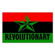 Marcus Garvey Revolutionary Rectangle Decal