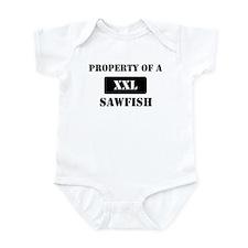 Property of a Sawfish Infant Bodysuit