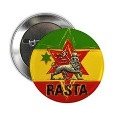 "One Love Rasta 2.25"" Button"