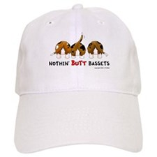 Nothin' Butt Bassets Baseball Cap