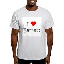 Unique I love barrett T-Shirt
