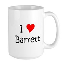 Unique I love barrett Mug